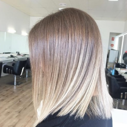 114 Top Shoulder Length Hair Ideas To Try (Updated For 2018) Regarding Tousled Shoulder Length Ombre Blonde Hairstyles (View 24 of 25)