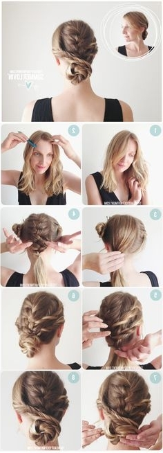 117 Best Braids Images On Pinterest | Hairstyle Ideas, Hair Makeup Pertaining To Brunette Macrame Braid Hairstyles (View 2 of 25)
