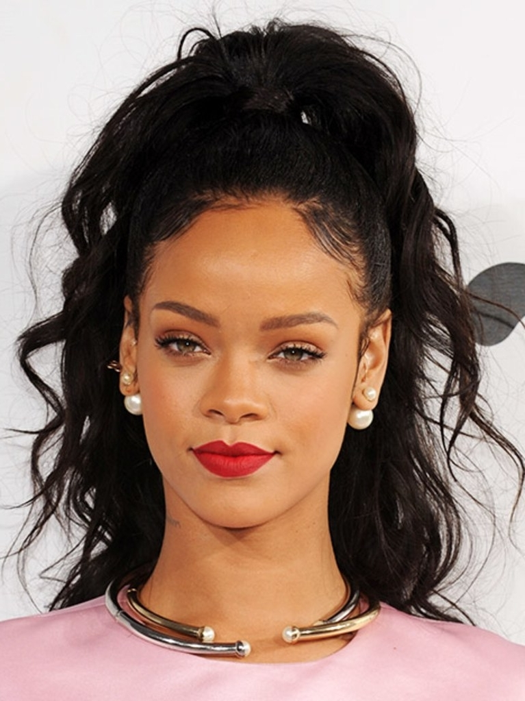12 Inspirational Ways To Style Your Baby Hairs | Allure With High Top Ponytail Hairstyles With Wavy Extensions (View 7 of 25)