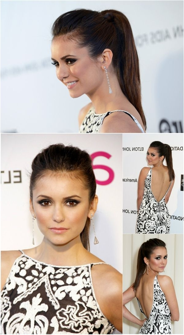 12 Latest Celebrity Hairstyles With Extensions—Collection Of Nina Throughout Hot High Rebellious Ponytail Hairstyles (View 24 of 25)
