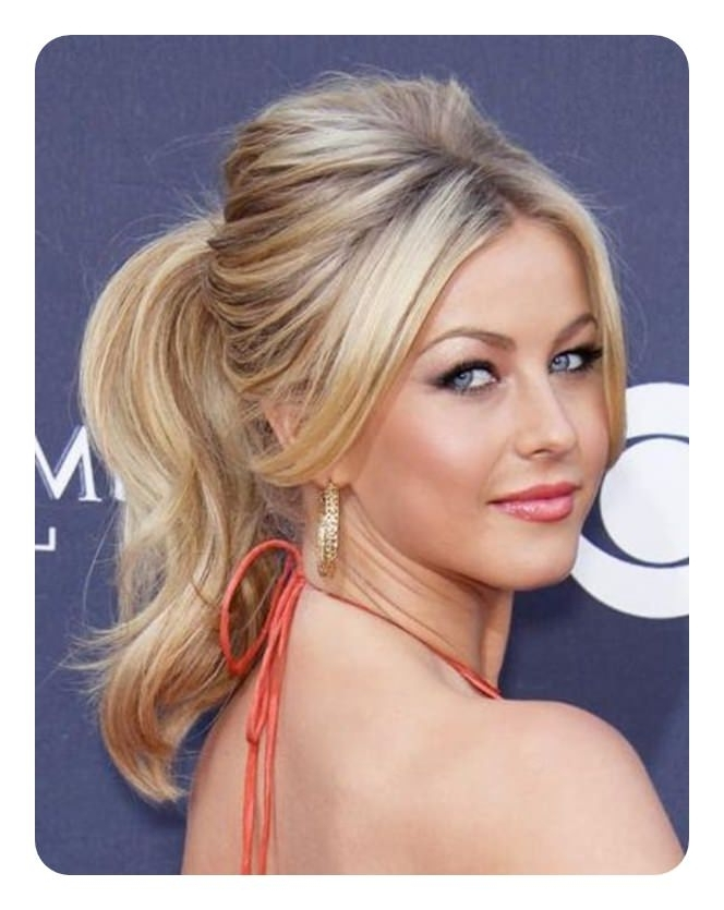 120 Fascinating Ponytail With Bangs To Cherish On For Half Pony Hairstyles With Parted Bangs (View 10 of 25)