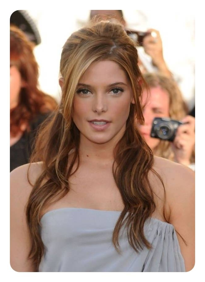 120 Fascinating Ponytail With Bangs To Cherish On With Half Pony Hairstyles With Parted Bangs (View 3 of 25)