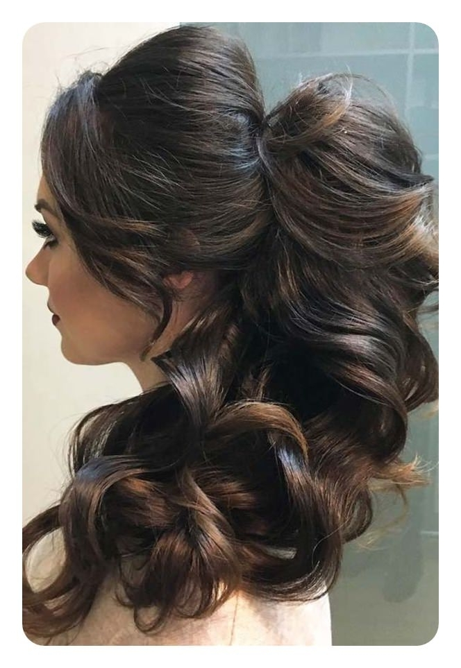 120 Fascinating Ponytail With Bangs To Cherish On Within Weaved Polished Pony Hairstyles With Blunt Bangs (View 21 of 25)