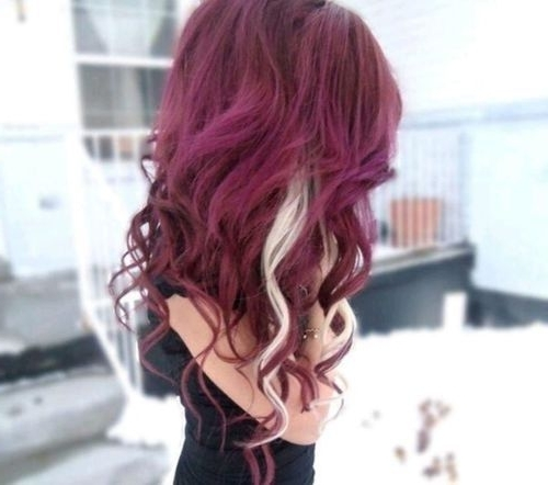 125 Best Hair (: Images On Pinterest | Hair Colours, Hair Cut And With Browned Blonde Peek A Boo Hairstyles (View 4 of 25)