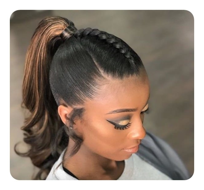 125 Cute Braided Ponytail Ideas For Spring With Tight And Sleek Ponytail Hairstyles (View 25 of 25)