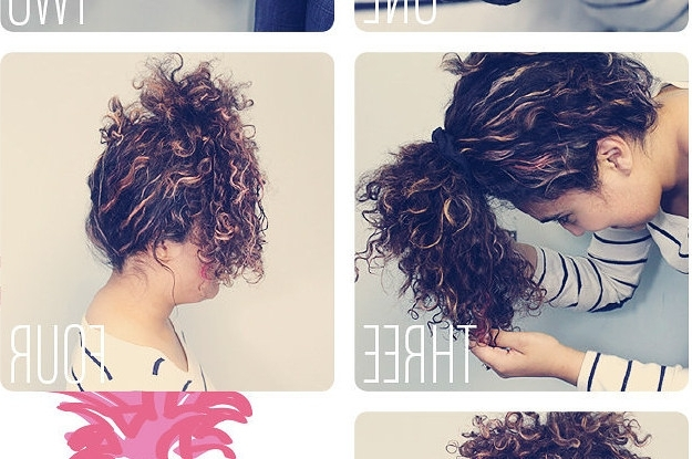 14 Curly Hair Tips That Actually Work Irl Throughout Night Time Curls Hairstyles (View 19 of 25)