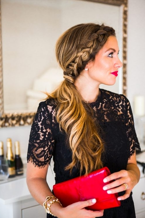 14 Cutest Side Ponytail Ideas For 2018 That You Need To See! Inside Formal Side Pony Hairstyles For Brunettes (View 10 of 25)