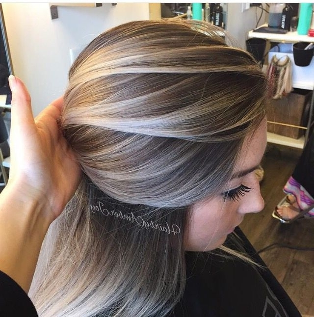 14 Dirty Blonde Hair Color Ideas And Styles With Highlights For Brunette Hairstyles With Dirty Blonde Ends (View 20 of 25)