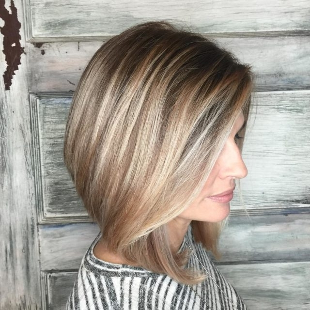 14 Dirty Blonde Hair Color Ideas And Styles With Highlights For Dark Blonde Hairstyles With Icy Streaks (View 1 of 25)