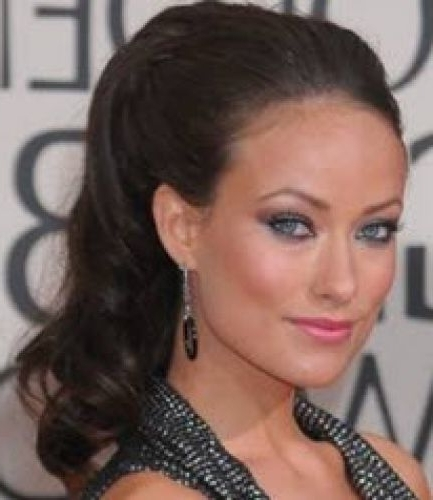 14 Olivia Wilde Long Hairstyles (Wild For Her Long, Ponytail & Updo With Ponytail Hairstyles With Wild Wavy Ombre (View 11 of 25)