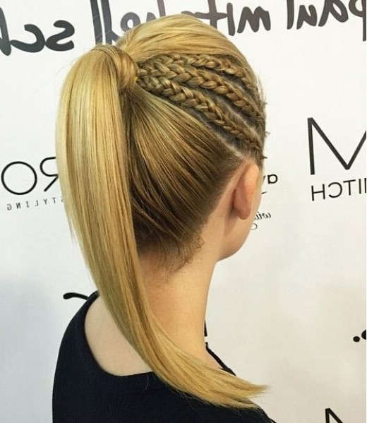 15 Adorable French Braid Ponytails For Long Hair – Popular Haircuts Inside French Braid Ponytail Hairstyles (View 8 of 25)