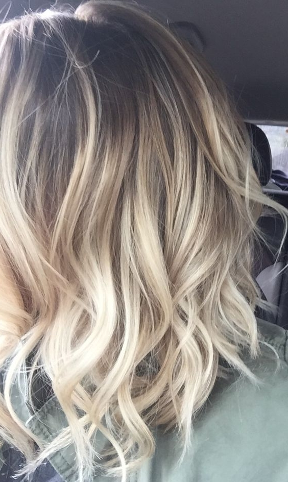 15 Amazing Balayage Hairstyles 2018 – Hottest Balayage Hair Color For Brown Blonde Balayage Lob Hairstyles (View 25 of 25)