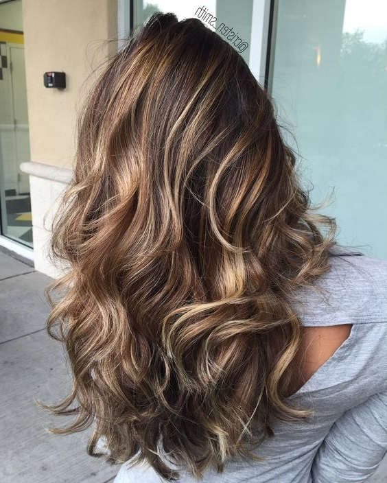 15 Amazing Balayage Hairstyles 2018 – Hottest Balayage Hair Color Inside Golden Blonde Balayage Hairstyles (View 8 of 25)