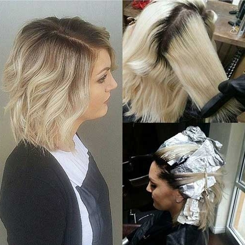 15 Balayage Bob Hair | Short Hairstyles 2017 – 2018 | Most Popular With Regard To Solid White Blonde Bob Hairstyles (View 23 of 25)