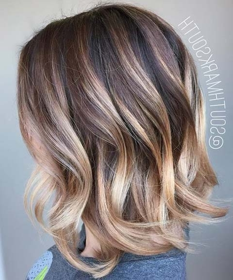 15 Balayage Hair Color Ideas With Blonde Highlights | Fashionisers For Contrasting Highlights Blonde Hairstyles (View 2 of 25)