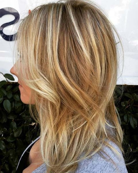 15 Balayage Hair Color Ideas With Blonde Highlights | Fashionisers In Contrasting Highlights Blonde Hairstyles (View 3 of 25)