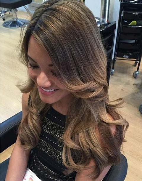15 Balayage Hair Color Ideas With Blonde Highlights | Fashionisers Pertaining To Classic Blonde Balayage Hairstyles (View 3 of 25)