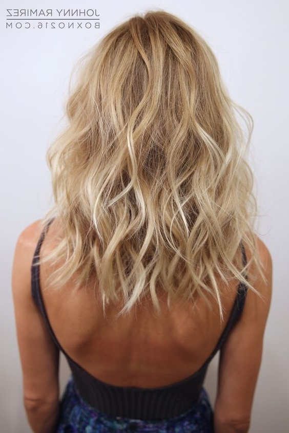 15 Balayage Medium Hairstyles – Balayage Hair Color Ideas For Inside Medium Blonde Balayage Hairstyles (View 17 of 25)
