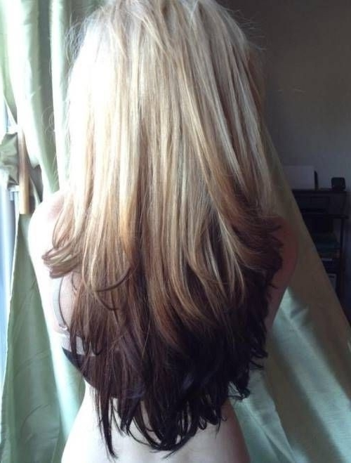 15 Black And Blonde Hairstyles! – Popular Haircuts Within Most Current Reverse Gray Ombre Pixie Hairstyles For Short Hair (View 13 of 25)