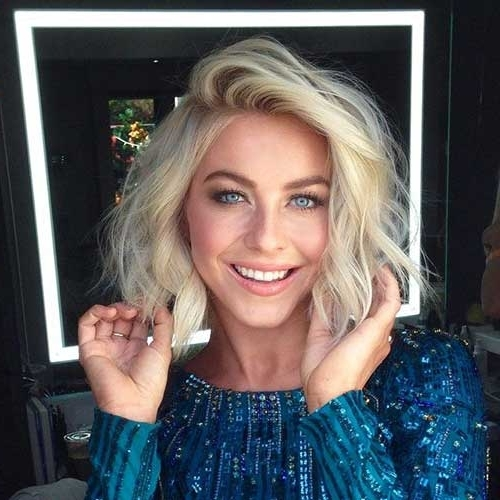 15 Blonde Bob Hairstyles | Short Hairstyles 2017 – 2018 | Most In Wavy Blonde Bob Hairstyles (View 6 of 25)