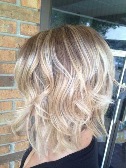 15 Blonde Bob Hairstyles | Short Hairstyles 2017 – 2018 | Most Regarding Curly Angled Blonde Bob Hairstyles (View 4 of 25)