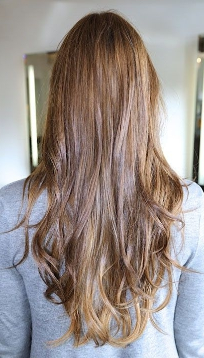 15 Brunette Hairstyles For You To Try | Pinterest | Dark Colors Within Blonde And Brunette Hairstyles (View 8 of 25)
