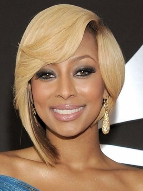 15 Chic Short Bob Hairstyles: Black Women Haircut Designs – Popular Within Recent Choppy Asymmetrical Black Pixie Hairstyles (View 2 of 25)