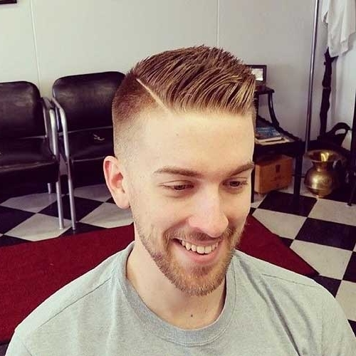 15 Cool Mens Fade Hairstyles | Mens Hairstyles 2018 With Regard To Fade To White Blonde Hairstyles (View 13 of 25)