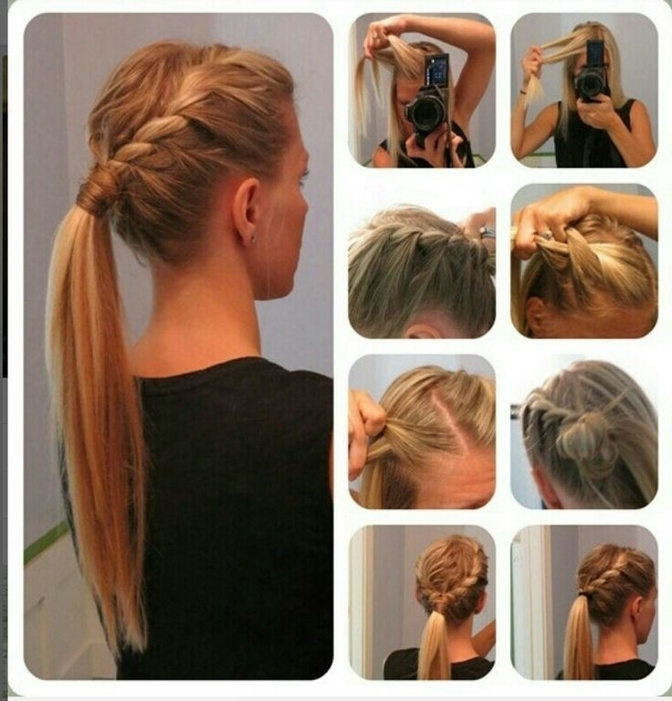 15 Cute & Easy Ponytails – Sure Champ With Regard To Double Tied Pony Hairstyles (View 2 of 25)