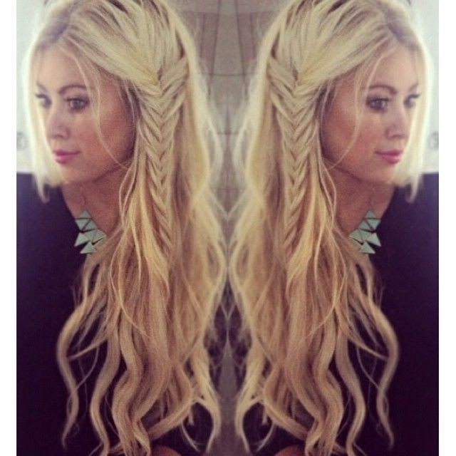 15 Cute Everyday Hairstyles 2017 – Chic Daily Haircuts For Girls With Regard To Braided Boho Locks Pony Hairstyles (View 12 of 25)