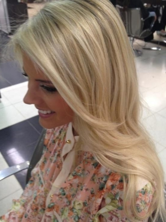 15 Easy Hairstyles For Long Thick Hair To Make You Want Short Hair Intended For Sexy Sandy Blonde Hairstyles (View 2 of 25)