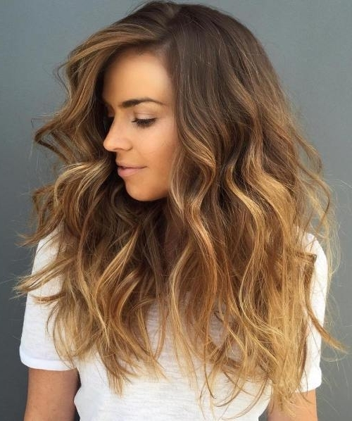 15 Fabulous Blonde Balayage Hair Looks For 2018 Inside Honey Blonde Fishtail Look Ponytail Hairstyles (View 8 of 25)