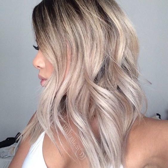 15 Fabulous Blonde Balayage Hair Looks For 2018 Intended For Classic Blonde Balayage Hairstyles (View 8 of 25)