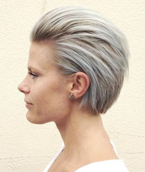 15 Fashionable Hairstyles For Ash Blonde Hair | Styles Weekly Within Sleek Ash Blonde Hairstyles (View 10 of 25)