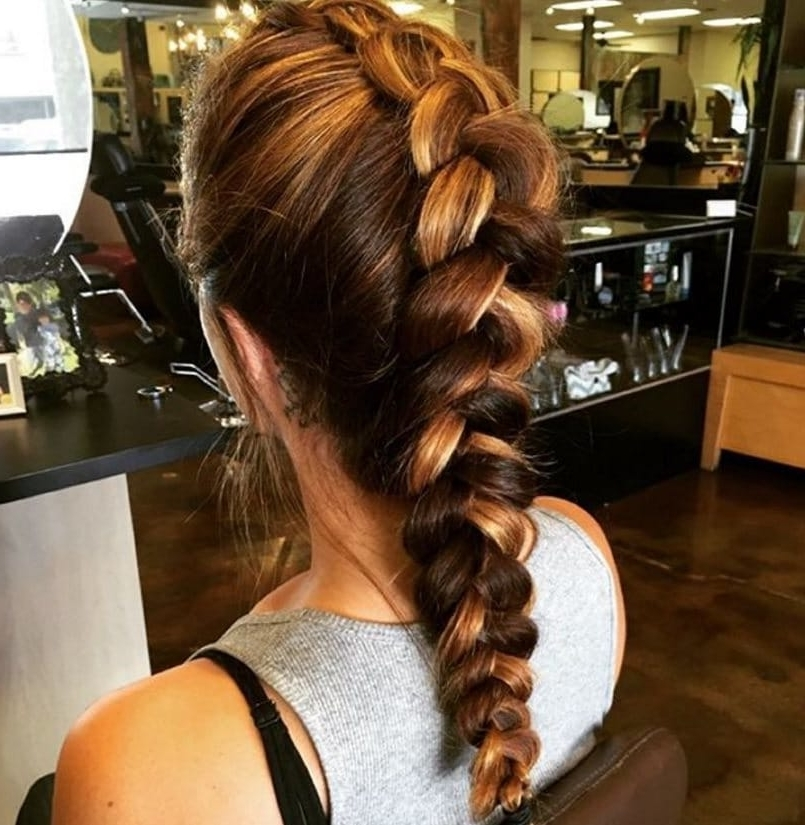 15 Faux Hawk Braid Styles From Instagram To Indulge Your Rock Chick Side Throughout Fierce Faux Mohawk Hairstyles (View 11 of 25)