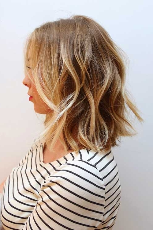 15 Highlighted Bob Hairstyles | Short Hairstyles 2017 – 2018 | Most Intended For Curly Highlighted Blonde Bob Hairstyles (View 3 of 25)