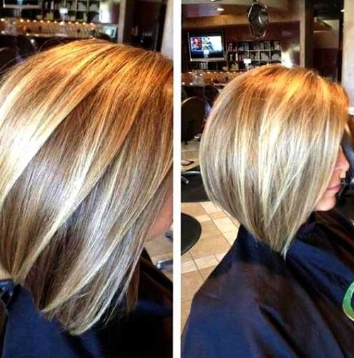 15 Highlighted Bob Hairstyles | Short Hairstyles 2017 – 2018 | Most Pertaining To Curly Highlighted Blonde Bob Hairstyles (View 4 of 25)