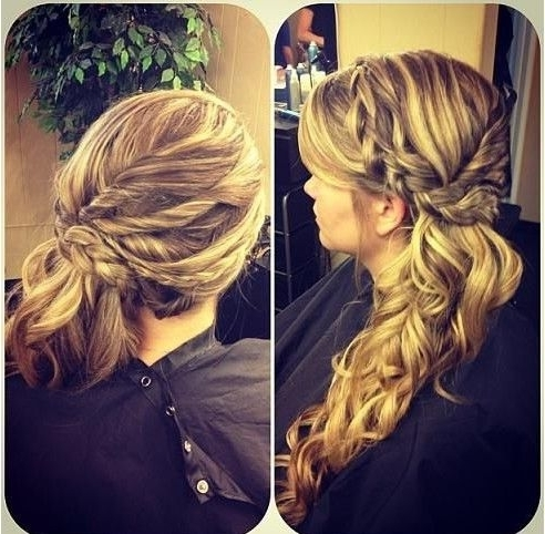 15 Hottest Braided Hairstyles | Hair | Pinterest | Side Pony, Plait For Braided Side Ponytail Hairstyles (View 3 of 25)