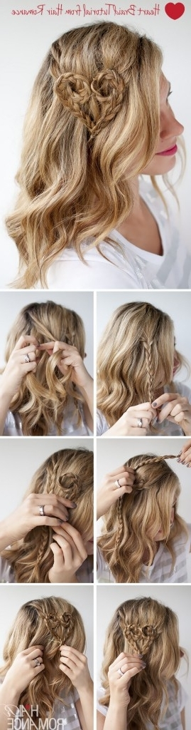 15 Incredible Hairstyle Tutorials For Curly Hair – Pretty Designs Intended For Wavy And Braided Hairstyles (View 22 of 25)