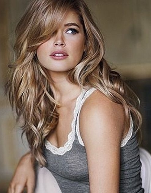 15 Sexy Hairstyles For Long & Medium Hair | Hair | Pinterest | Dark In Sexy Sandy Blonde Hairstyles (View 3 of 25)