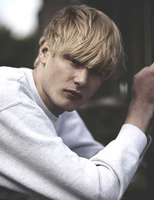 15 Shaggy Mens Hairstyles | Mens Hairstyles 2018 With Shaggy Fade Blonde Hairstyles (View 20 of 25)