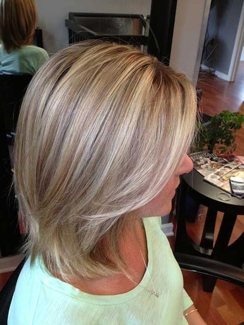 15 Short Blonde Highlighted Hair | Hair | Pinterest | Highlighted In White And Dirty Blonde Combo Hairstyles (View 3 of 25)