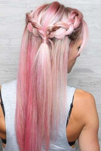 15 Summer Half Up Half Down Ponytail Trends You`ll Love – My Stylish Zoo For Midi Half Up Half Down Ponytail Hairstyles (View 5 of 25)
