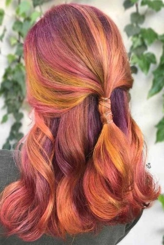 15 Summer Half Up Half Down Ponytail Trends You`ll Love – My Stylish Zoo Pertaining To Midi Half Up Half Down Ponytail Hairstyles (View 18 of 25)