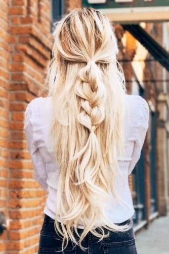 15 Summer Half Up Half Down Ponytail Trends You`ll Love – My Stylish Zoo Regarding Midi Half Up Half Down Ponytail Hairstyles (View 21 of 25)