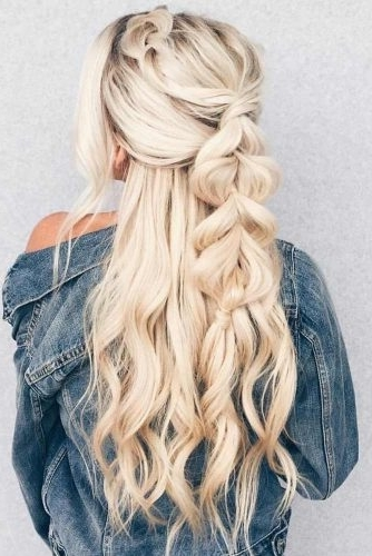 15 Summer Half Up Half Down Ponytail Trends You`ll Love – My Stylish Zoo Regarding Midi Half Up Half Down Ponytail Hairstyles (View 17 of 25)