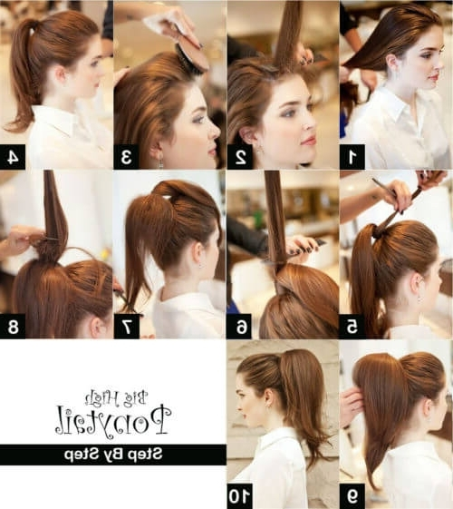 16 Best Ponytail Tutorials That Will Make You A Pony Hairstyling Expert! Throughout Big And Bouncy Half Ponytail Hairstyles (View 16 of 25)