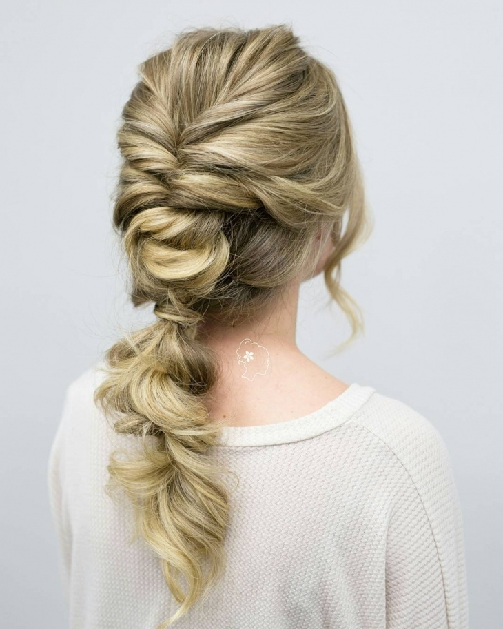 16+ Knotted Ponytail Haircut Ideas, Designs | Hairstyles | Design Intended For Braided And Knotted Ponytail Hairstyles (View 6 of 25)