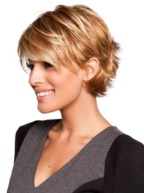 16 Sassy Short Haircuts For Fine Hair In 2018 Sassy Pixie Hairstyles For Fine Hair (View 3 of 25)