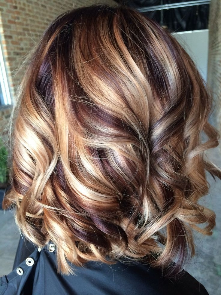 16 Wonderful Medium Hairstyles For 2016 | New Fall Hair Color Ideas Intended For Chamomile Blonde Lob Hairstyles (View 24 of 25)